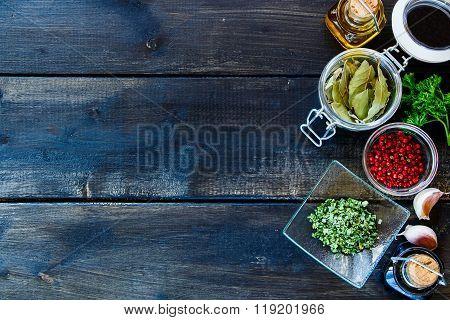 Cooking Ingredients Background