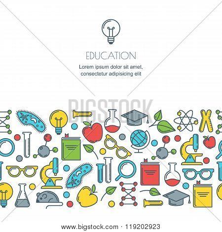 Online Education, Graduation, School And University Concept.