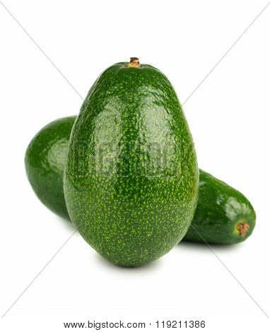 Two Green Avocado