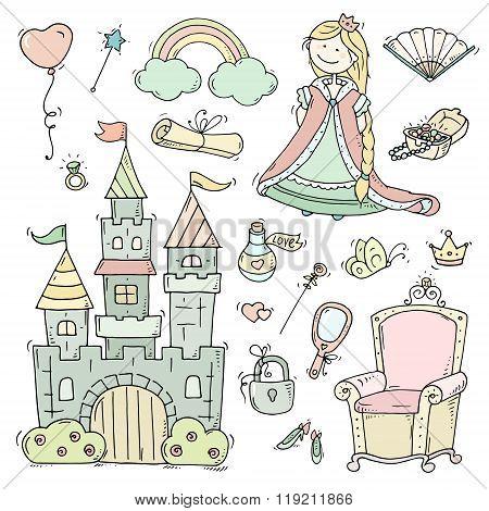 Cute Cartoon Princess Collection