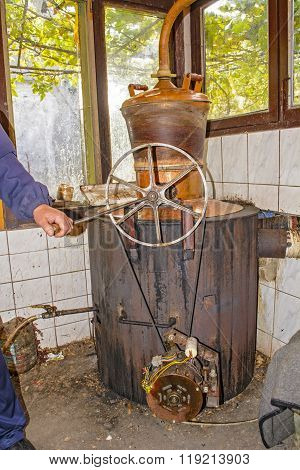 Alcohol Distillation Boiler