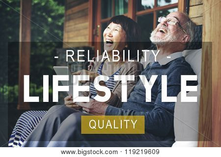 Lifestyle Reliability Quality Life Living Concept