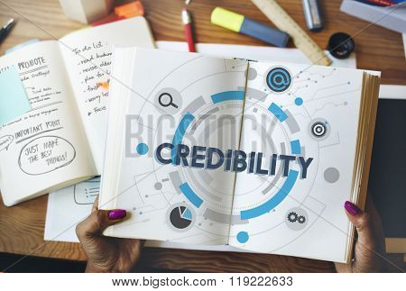 Credibility Trustworthy Dependability Likely Believeable Concept