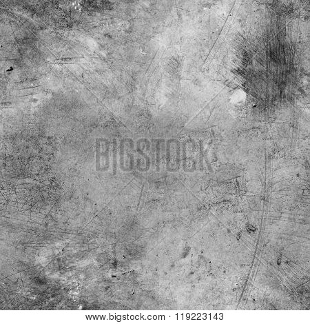 Silver Metal plate. Seamless texture