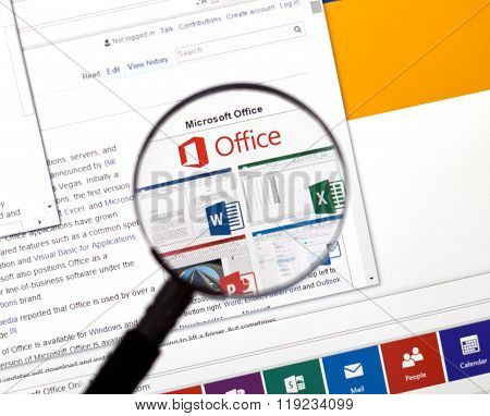 Microsoft Office Word, Excel.