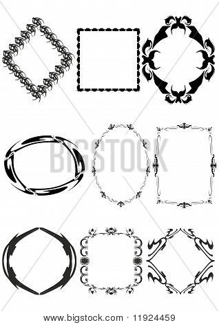 Decorative frame.