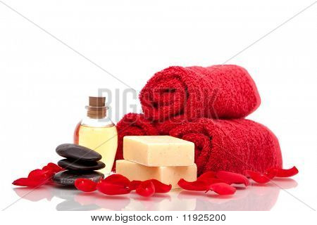 Various spa or bath items