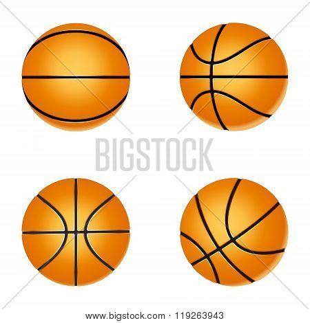 Set Basketball Ball