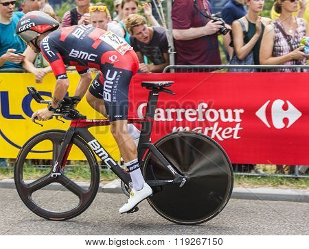 The Cyclist Damiano Caruso - Tour De France 2015