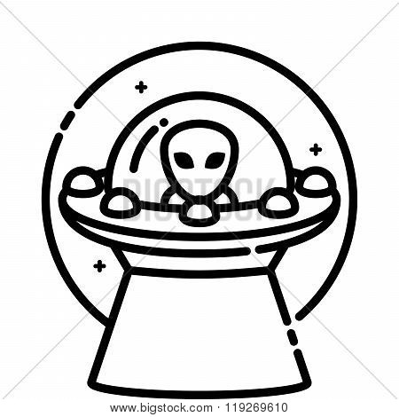 Unidentified Flying Vector Photo Free Trial