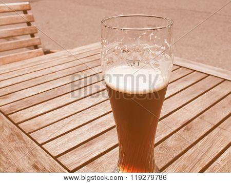 Weiss Beer Vintage