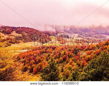 Campogrosso in Autumn