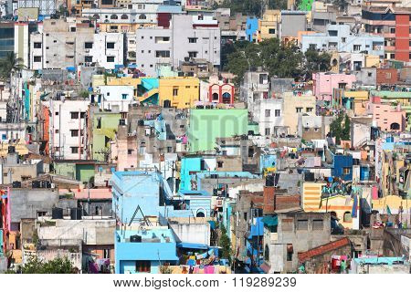 Visakhapatnam, INDIA - December 9 : Visakhapatnam is largest city in newly bifurcated Andhra Pradesh state in India, On December 9,2015 Visakhapatnam, India