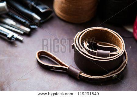 Retro Genuine Leather Camera Strap