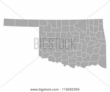Map Of Oklahoma