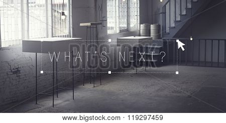 What's Next Trend Upcoming Workspace Concept