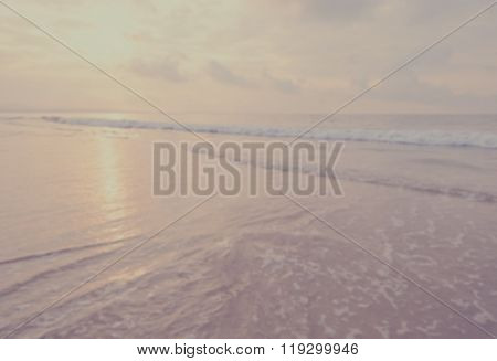 Blur Tranquil Beach