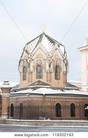 Chapel Vestry Panteleimon Church At The Savior On Spilled Blood. St. Petersburg