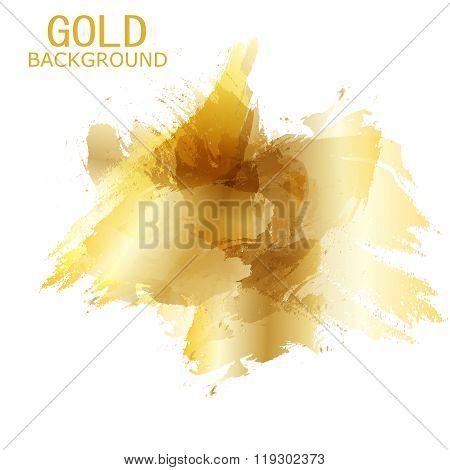 Vector Beautiful Gold Satin.