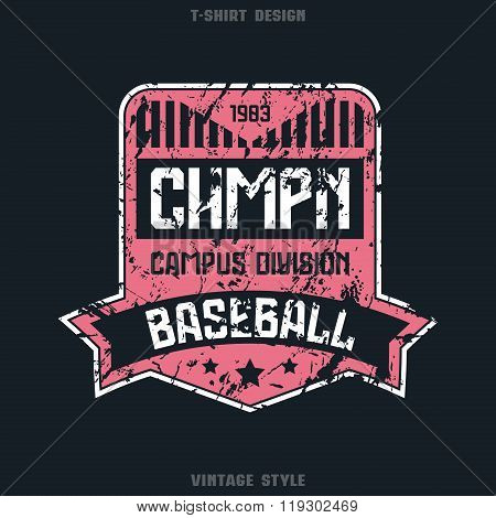 Baseball Team Badge