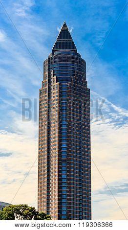 The MesseTurm in Frankfurt am Main