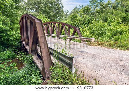 Skewed Pony Truss Bridge