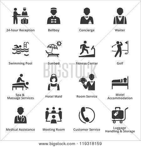 Tourism & Travel Icons -