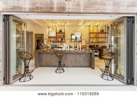 Interior Of A Luxury Kitchen