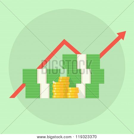 Profit Vector Illustration