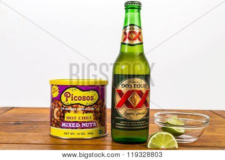 Beer And Hot Nuts