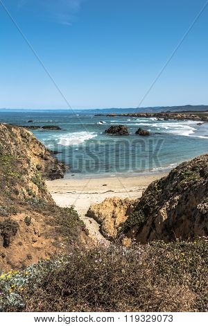 Fort Bragg coast, California