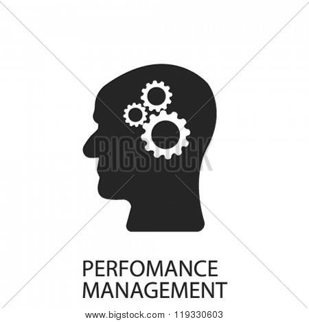 perfomance management icon, perfomance management logo, perfomance management icon vector, perfomance management illustration, perfomance management symbol
