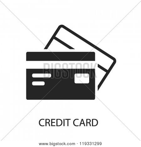credit card icon, credit card logo, credit card icon vector, credit card illustration, credit card symbol