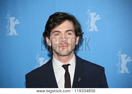 Miguel Nunes   attends the 'Letters from War' (Cartas da guerra) photo call during the 66th Berlinale Film Festival Berlin at Grand Hyatt Hotel on February 14, 2016 in Berlin, Germany.