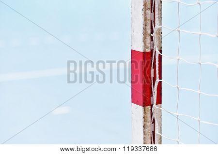 Handball Goalpost Detail