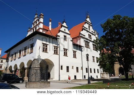 Historic Building In Levoca Town.