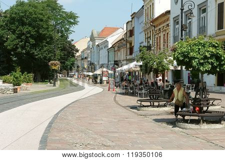 Street In Kosice.