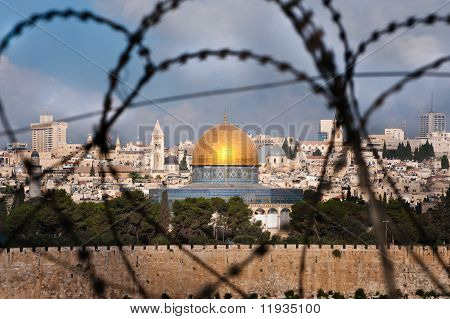 Jerusalem Through Razor Wire