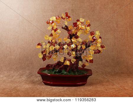 Tree Of Gems Amber