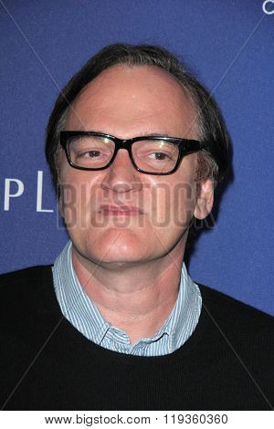 LOS ANGELES - FEB 23:  Quentin Tarantino at the 18th Costume Designers Guild Awards at the Beverly Hilton Hotel on February 23, 2016 in Beverly Hills, CA
