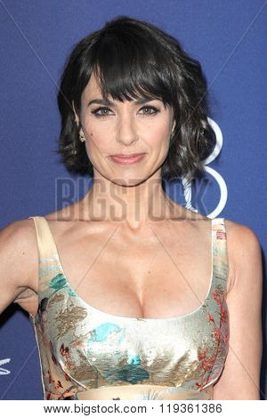 LOS ANGELES - FEB 23:  Constance Zimmer at the 18th Costume Designers Guild Awards at the Beverly Hilton Hotel on February 23, 2016 in Beverly Hills, CA