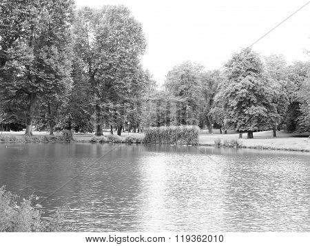 Gardens In Stuttgart, Germany