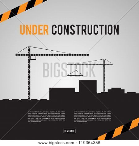 Building under Construction site