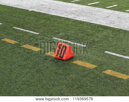 Football Field Yard Marker