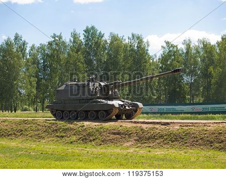 Self-propelled artillery unit (SAU)