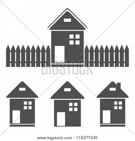 Icons - lodges and houses