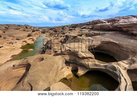 Unseen Thailand Grand Canyon Sam Pan Bok At Ubonratchathani