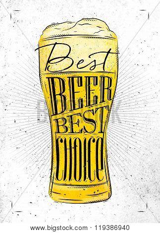 Poster Best Beer