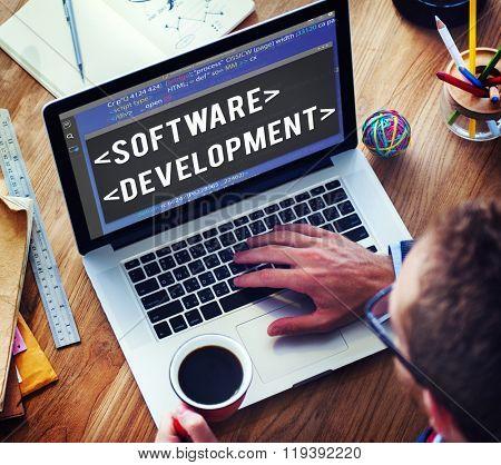 Software Development Programmer Developer Technology Concept