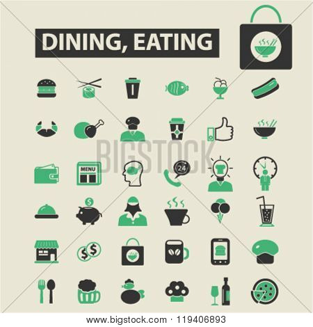 dining, eating icons, dining, eating logo, dining, eating vector, dining, eating flat illustration concept, dining, eating infographics, dining, eating symbols,